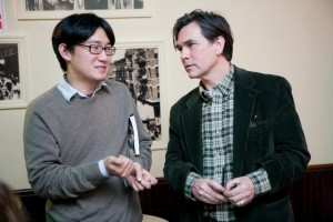 005 Writer Ed Park and artist Duncan Hannah