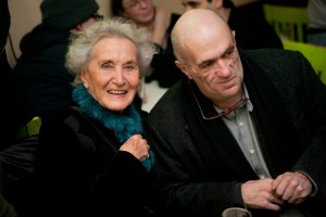014 Beatrice von Rezzori and Colm Toibin